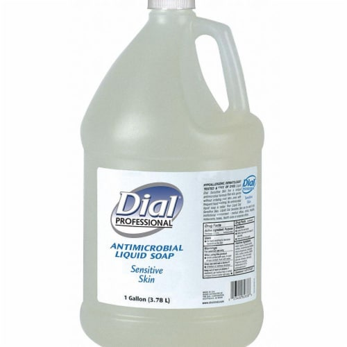 Dial Liquid Hand Soap,1 gal.,Floral,PK4  82838 Perspective: front