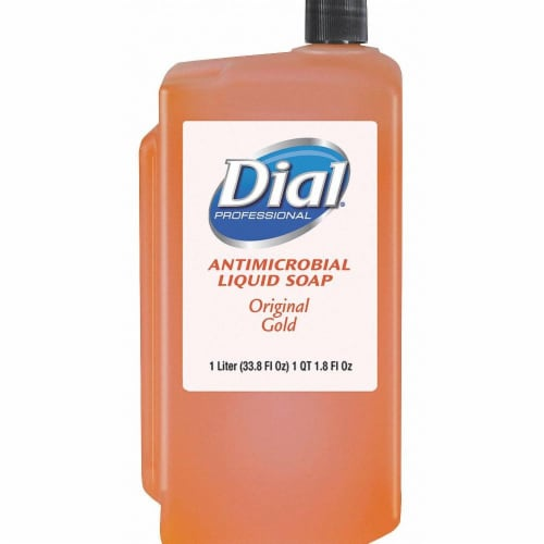 Dial Liquid Hand Soap,1000mL,Floral,PK8  84019 Perspective: front