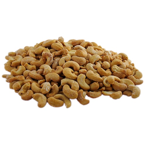 Roasted & Salted Cashews Perspective: front