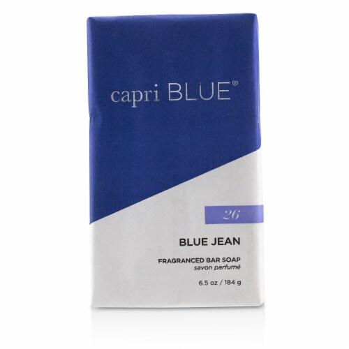 Capri Blue Signature Bar Soap  Blue Jean 184g/6.5oz Perspective: front
