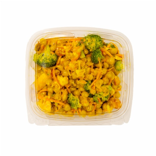 Curry Chickpea Salad Perspective: front