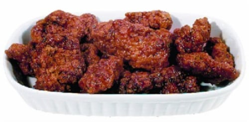 Home Chef Breaded Boneless BBQ Wing Hot (NOT AVAILABLE BEFORE 11:00 am DAILY) Perspective: front