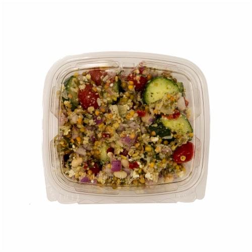 Greek Salad Perspective: front