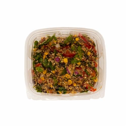 Southwest Quinoa Salad Perspective: front