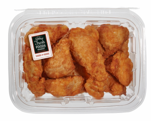 Fresh Foods Market Plain Chicken Wings Perspective: front