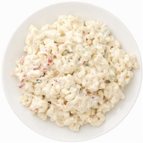 Elbow Macaroni Salad Perspective: front