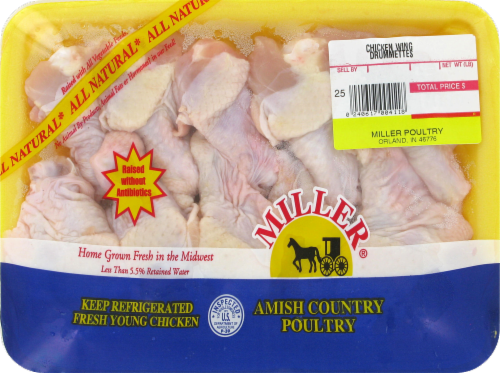 Miller Chicken Wing Drumettes ( 10 per Pack) Perspective: front