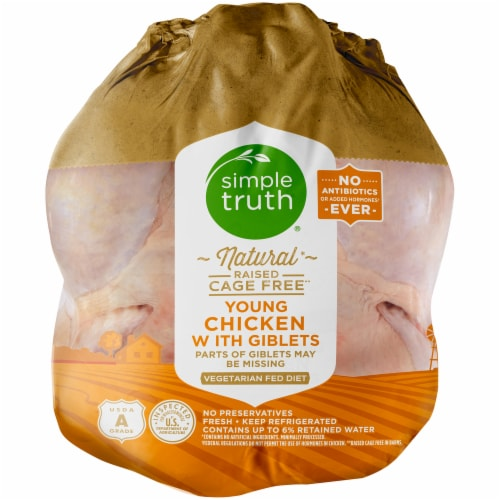 Simple Truth™ Natural Whole Chicken Perspective: front