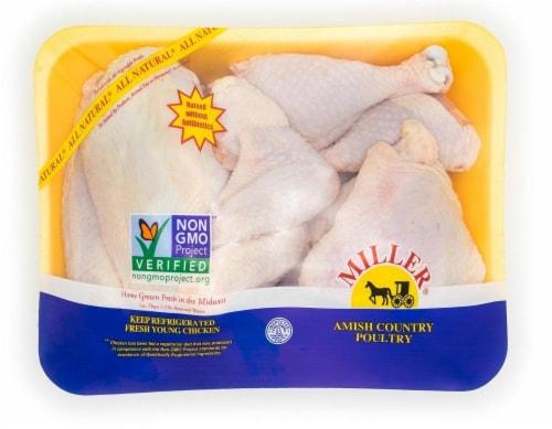 Miller Amish Chicken Drumsticks Perspective: front