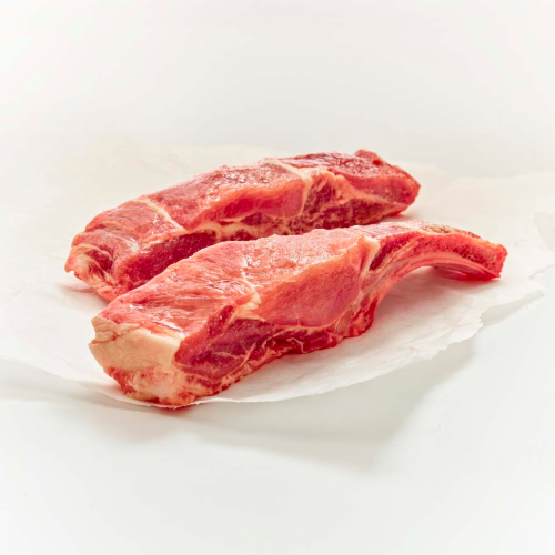 Moist & Tender Pork Bone in Country Style Ribs Value Pack (About 6 Ribs per Pack) Perspective: front