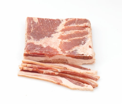 Bacon Steak Center Cut Thick Sliced (From Meat Service Counter) Perspective: front