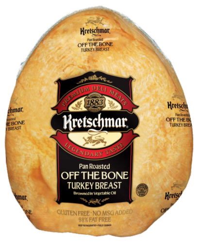 Kretschmar Oven Roasted Off the Bone Turkey Breast Perspective: front
