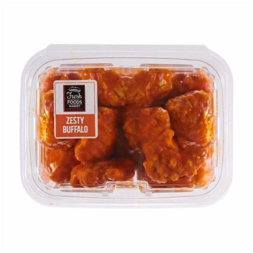 Fresh Foods Market Zesty Buffalo Boneless Wings Perspective: front