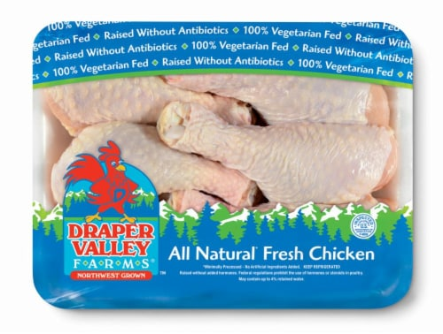 Draper Valley Farms Chicken Drumsticks Perspective: front