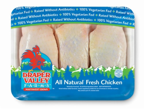 Draper Valley Farms Chicken Thighs Perspective: front