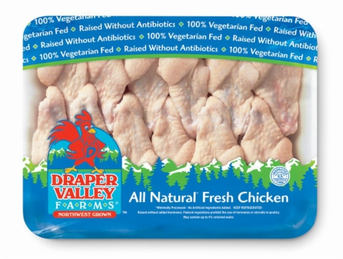 Draper Valley Farms Chicken Wing Drummettes Perspective: front