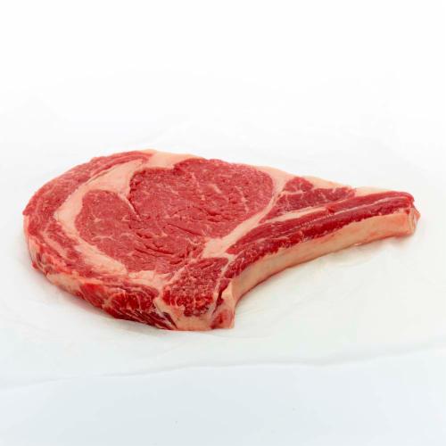 Sterling Silver Beef Choice Bone-In Ribeye Steak (1 Steak) Perspective: front