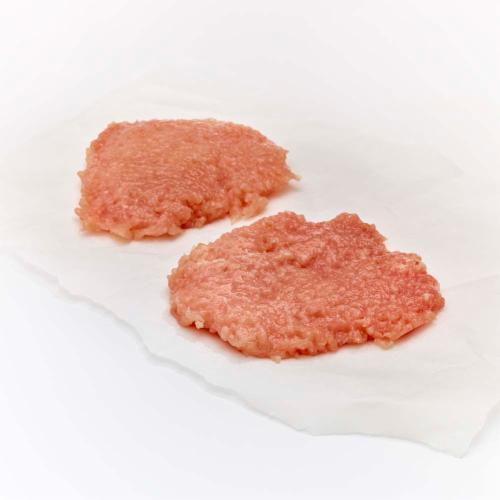 Pork Cubed Steak (2 Steaks per pack) Perspective: front