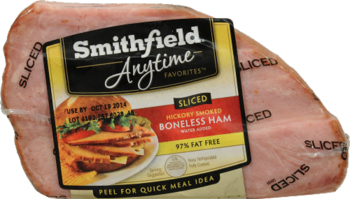 Smithfield Sliced Hickory Ham Quarter Limit 1 per Order Perspective: front