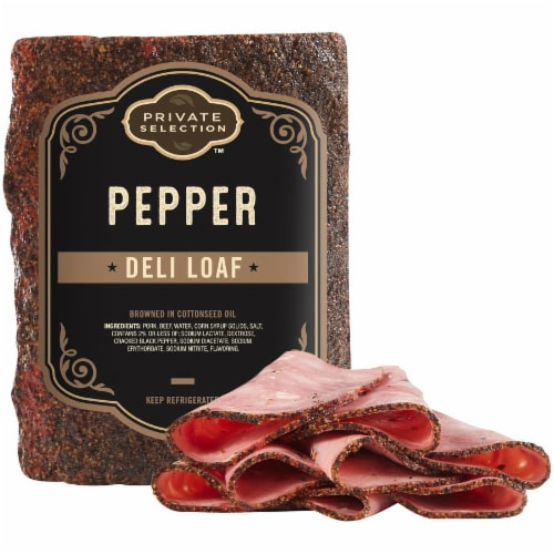 Private Selection™ Pepper Deli Loaf Perspective: front
