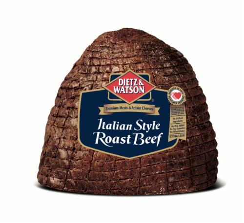Dietz & Watson Sliced Italian Style Roast Beef Perspective: front