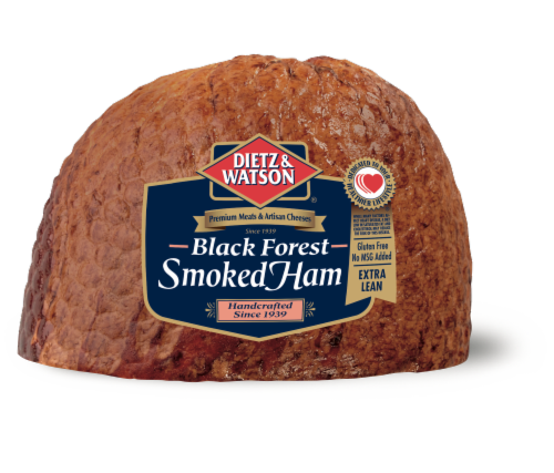 Dietz & Watson Sliced Black Forest Smoked Ham Perspective: front