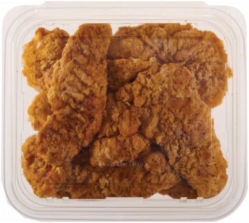 Home Chef Chicken Tenders Hot  (NOT AVAILABLE BEFORE 11:00 am DAILY) Perspective: front