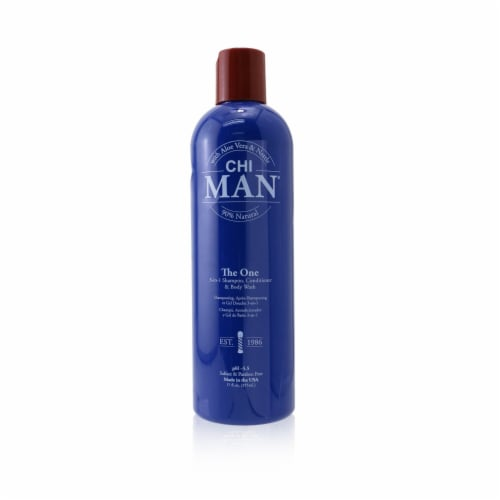 CHI Man The Finisher Grooming Spray (Flexible Hold/ Medium Shine) 177ml/6oz Perspective: front