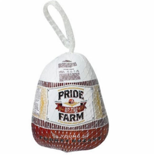 Pride of the Farm Young Frozen Turkey Breast (3-8 lb) Perspective: front