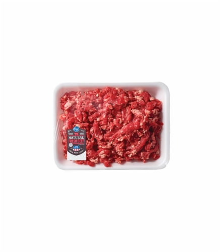 Diced Beef Taco Meat Perspective: front