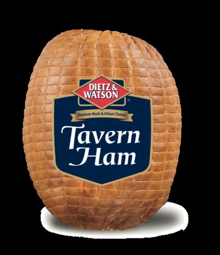 Dietz & Watson Sliced Tavern Ham Perspective: front