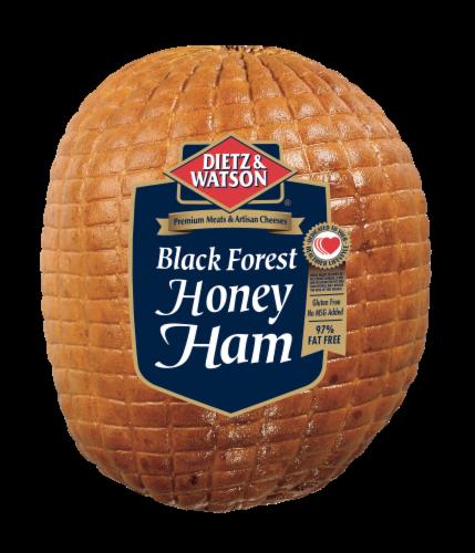 Dietz & Watson Sliced Black Forest Honey Ham Perspective: front