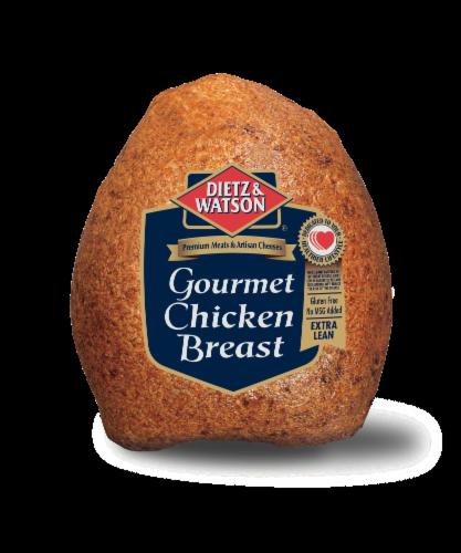 Dietz & Watson Sliced Gourmet Chicken Breast Perspective: front