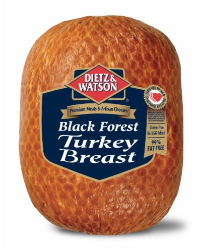 Dietz & Watson Sliced Black Forest Turkey Breast Perspective: front