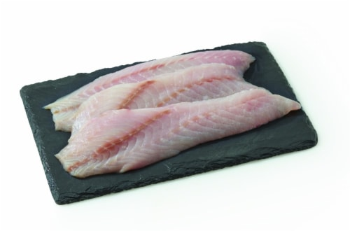 Rockfish Fillet (Wild Caught Fresh) (Service Counter) Perspective: front