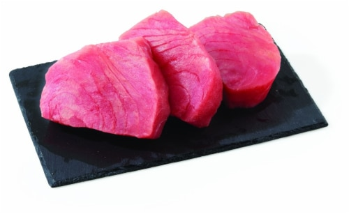 Tuna Yellowfin (Wild Caught Frozen) (Service Counter) Perspective: front