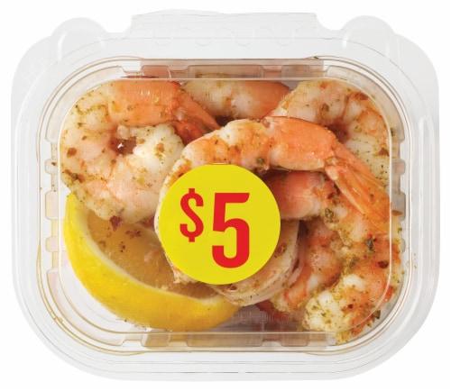 Seasoned Shrimp Bowl Perspective: front