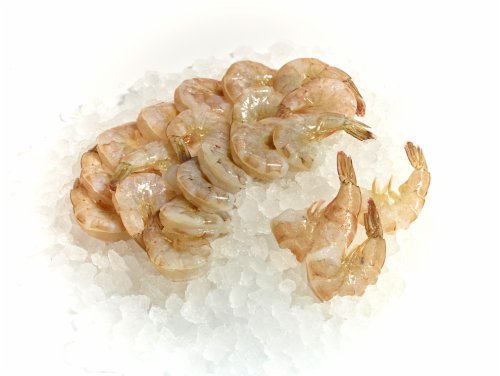 Shrimp Raw White XXX Large 13/15 Count (Farm Raised Previously Frozen) (Service Counter) Perspective: front