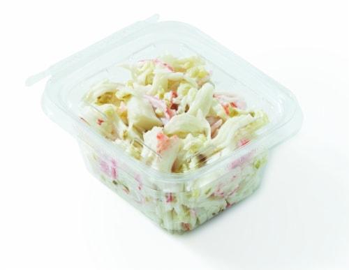 Seafood Salad Krab Salad Perspective: front
