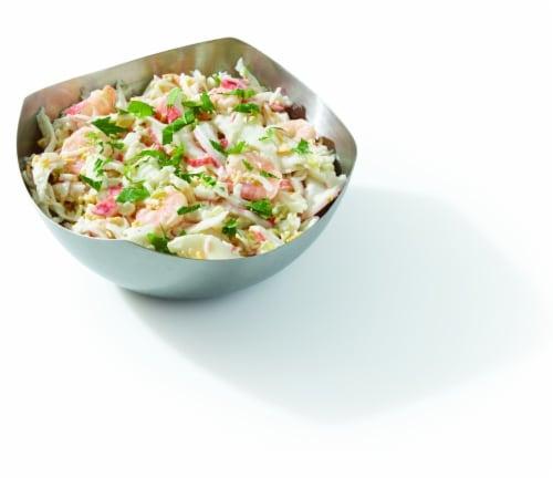 Seafood Salad Shrimp Krab and Cheddar (Service Counter) Perspective: front