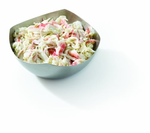 Seafood Salad (Service Counter) Perspective: front