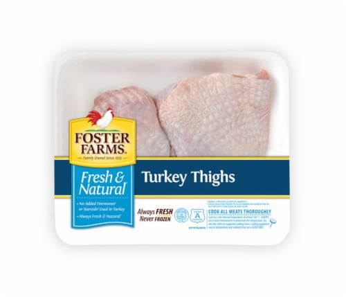 Foster Farm Turkey Thighs Perspective: front