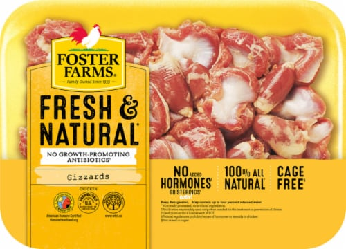 Foster Farms Gizzards Perspective: front