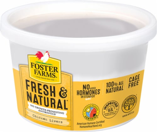 Foster Farms Chicken Livers Perspective: front
