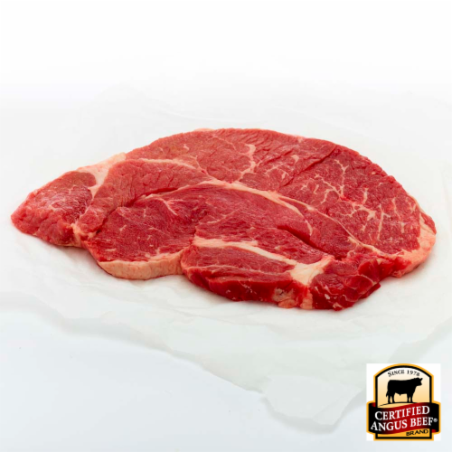 Certified Angus Beef Choice Chuck Steak (1 Steak) Perspective: front
