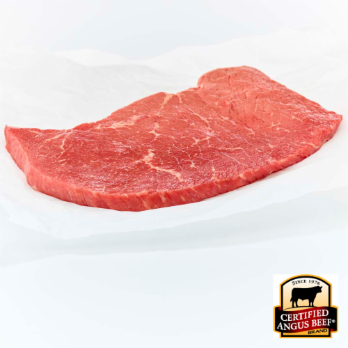 Certified Angus Beef Choice Top Round Steak (1 Steak) Perspective: front