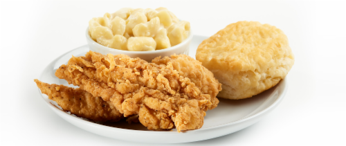 Chicken Tender 2 PC Meal (NOT AVAILABLE BEFORE 11:00 am DAILY) Perspective: front