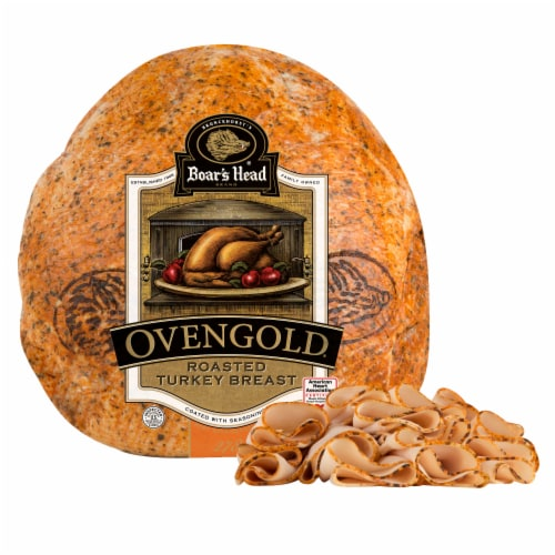 Boar's Head Ovengold Roasted Turkey Breast Perspective: front