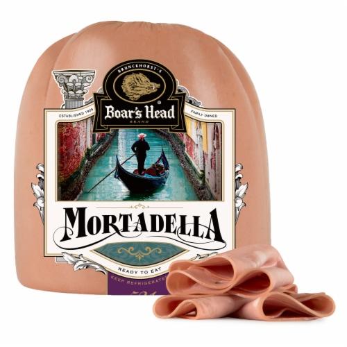 Boar's Head Mortadella Perspective: front