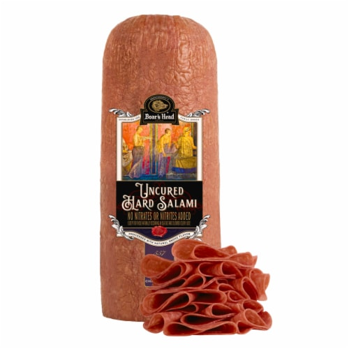 Boar's Head Hard Salami Perspective: front